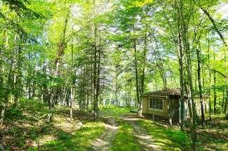 Garfield Lake Cabin Oak Bend Trail